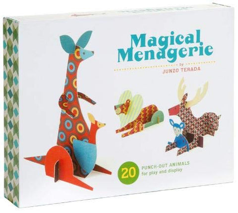 Magical Menagerie: 20 Punch Out Animals for Play and Display