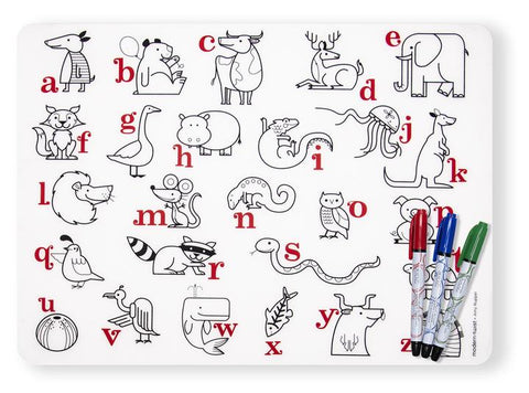 Mark Mat Set - Alphabet Animals