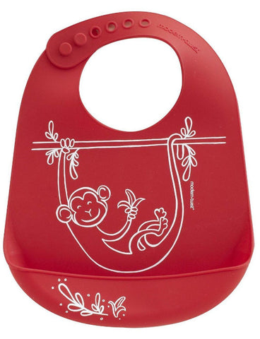 Monkey Business Bucket Bib
