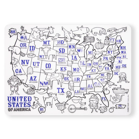 Mark Mat Set - USA Map