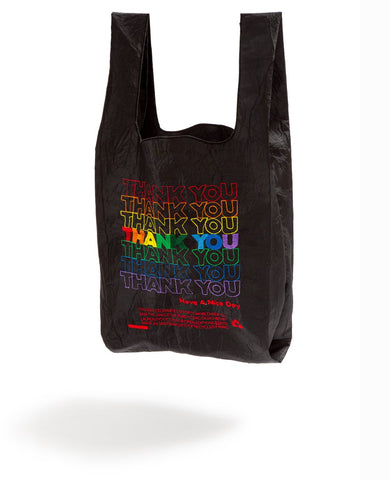 Thank You Tote - Rainbow