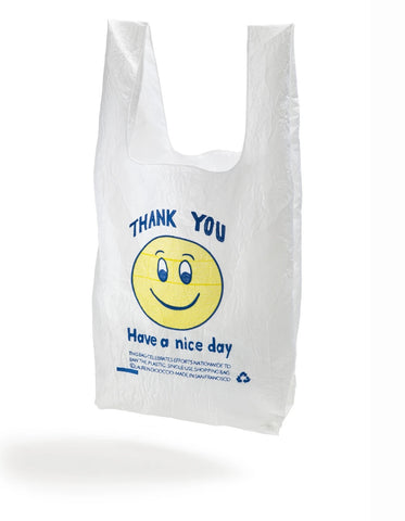 Thank You Tote - Smiley Face