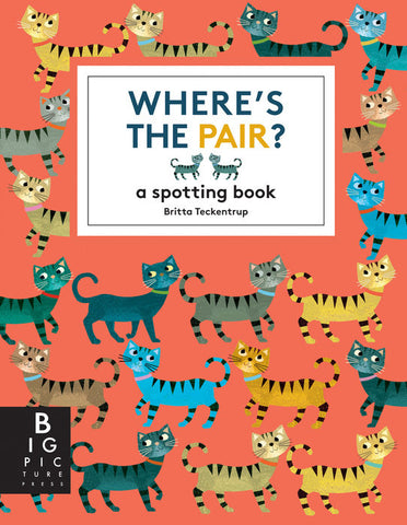 Where's the Pair? A Spotting Book