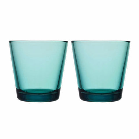 Kartio Tumblers - Set of Two, Sea Blue