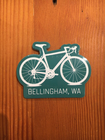 Bellingham Bike Sticker