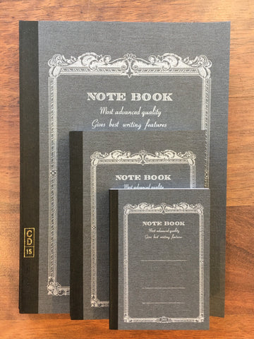 Apica Notebooks, Black - Sold individually