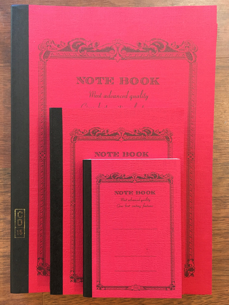 Apica Notebooks, Red - Sold individually