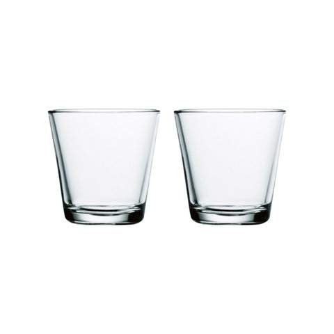Kartio Glasses - Set of Two, Clear