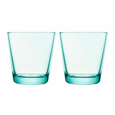 Kartio Tumblers - Set of Two, Water Green