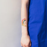Tattly Tattoo - Rainbow Banana