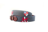 Needlepoint Men's Belt
