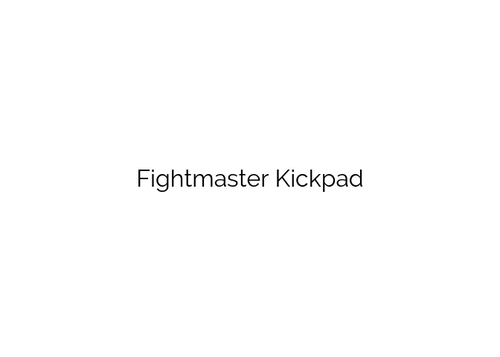 Kick Pad - Coming Soon!