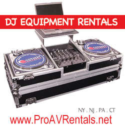 rent dj equipment dj gear rental dj turntables dj mixers dj