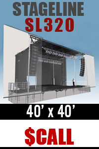 Mobile Stage Rentals - Truck Trailer Staging - NATIONWIDE