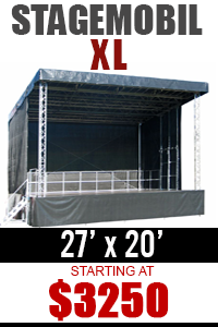 Rent Mobile Stage Stagemobil XL