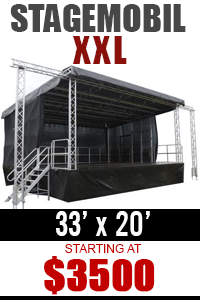 Mobile Stage Rental Stagemobil XXL