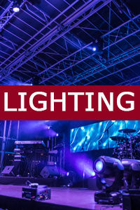 Event Lighting Rental - NYC, NY, NJ, CT, PA
