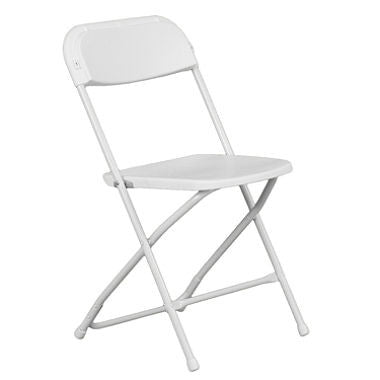 White Folding Chair - Rental