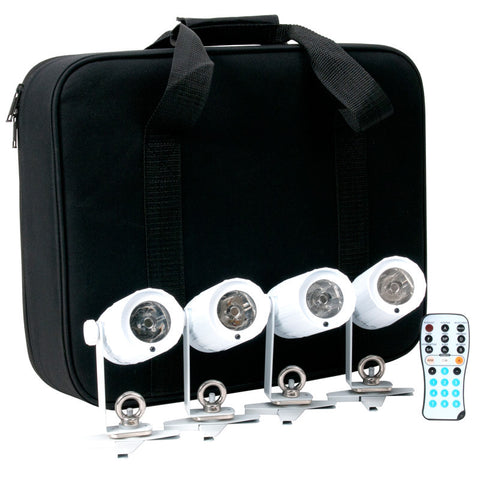 ADJ Pin Spot LED Light Package