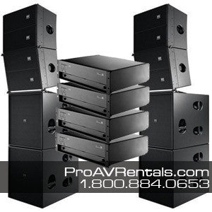 d&b Q-Series Speaker Package Rental