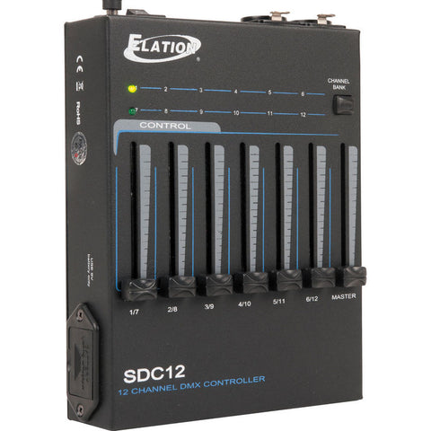 Elation SDC12 12-Channel DMX Controller