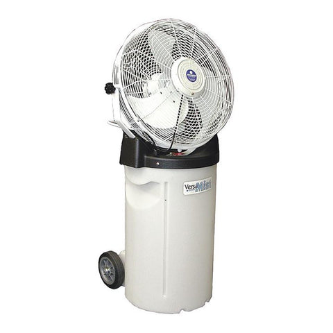 "Schaefer 18"" Commercial Misting Fan with Pump Base & Cooler"