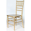 Gold Ballroom Chair - Rental
