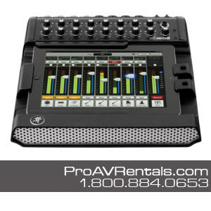 Mackie DL1608 Digital iPad Mixer Rental