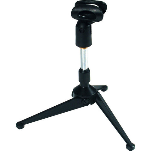 QuikLok Desktop Microphone Stand with Tripod Base