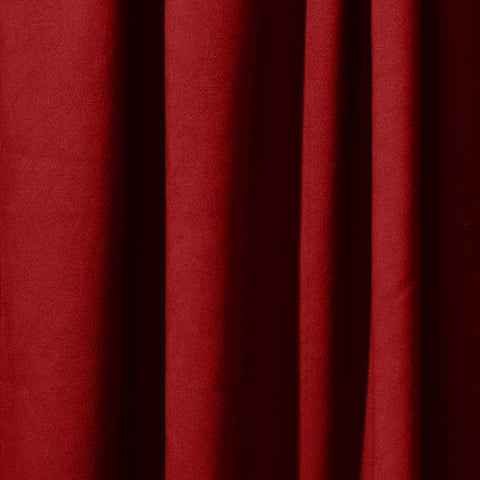 Pipe & Drape Rental - Crimson/Wine 22oz Encore Velour Fabric (per ft)