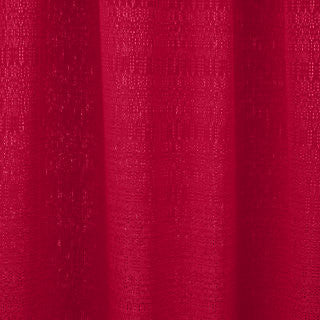 Pipe & Drape Rental - 8'H Red 7oz Banjo Fabric (per ft)