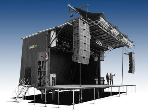 Rent Truck Stage Stageline Sl320 Mobile Truck Rental