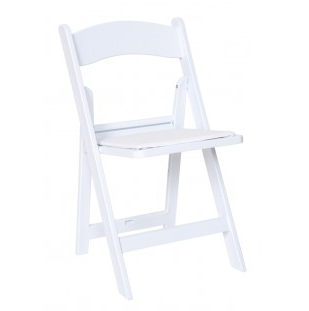 Wedding White Folding Garden Chair