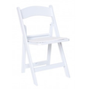 White Folding Garden Chair Wedding White