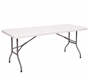"6' x 30"" Plastic Banquet Table"