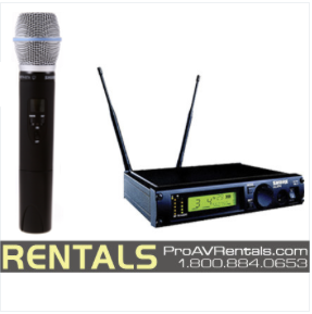 Shure ULX Wireless Microphone Rental