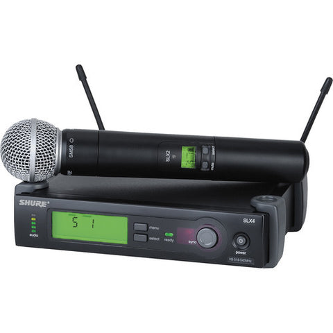 Shure SLX Handheld Wireless System Rental