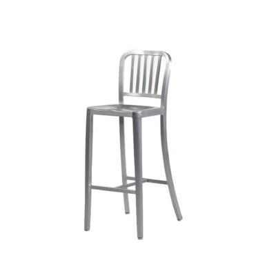 Aluminum Bar Stool - Modern