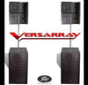 Peavey Versarray Speaker Package - Line Array