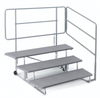 Choral Choir Riser Rental - 3 Tier with Rail