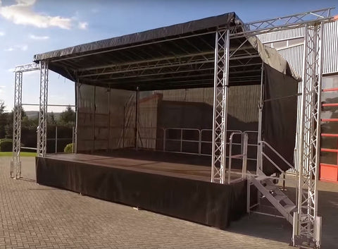 Stagemobil XL Mobile Stage Trailer
