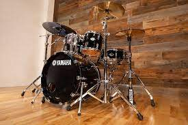 Yamaha 5pc Beech Custom Drum Kit