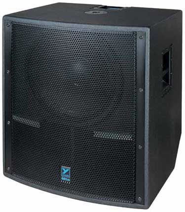 "Yorkville 1500W 18"" Powered Subwoofer"