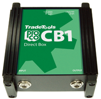Pro-Co Sound CB1 Direct Box