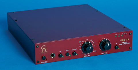 GOLDEN AGE PROJECT PRE 73 MIC PREAMP