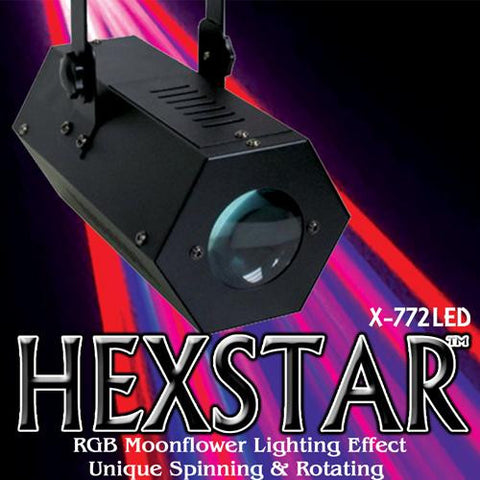 LED HexStar DJ Light Rental
