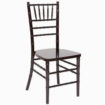 Mahogany Ballroom Chair - Rental