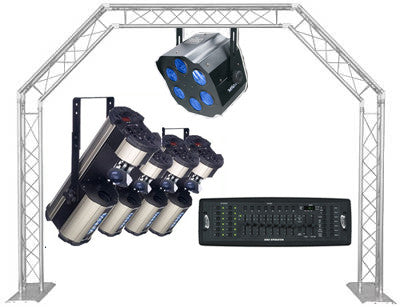 Lighting Package 1 - Ultimate Party Light System