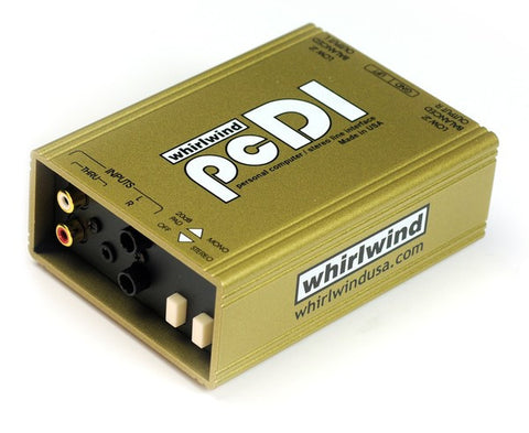 Whirlwind PCDI Stereo Passive Direct Box