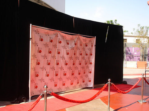 Banner Stand, Step and Repeat Stand for 8x8 or 8x10 Banner